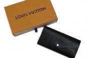 LOUIS VUITTONのブラック×ピンクのエピ ロングウォレットをお買取しました!
