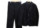 肉厚なジャーマンレザーを使用したFRANK LEDERのジャケット・パンツがセットで入荷しました!