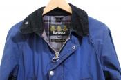 春カラーが嬉しいBarbourのオイルドジャケットをお買取しました。