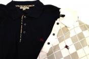 夏物続々入荷中!!BURBERRY/バーバリーのポロシャツをお買取しました。