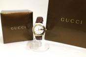 GUCCI / グッチのシェリーラインモチーフの腕時計をお買取しました。