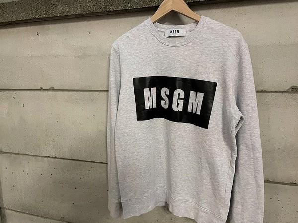 「ストリートブランドのMSGM 」
