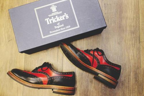 Tricker'sの革靴
