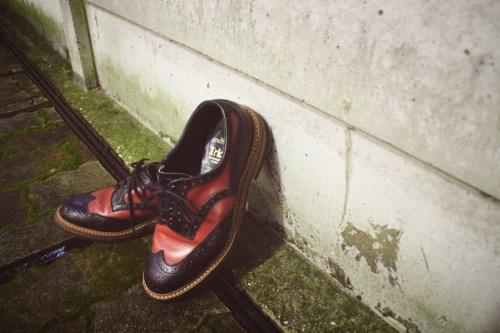 革靴のシューズ