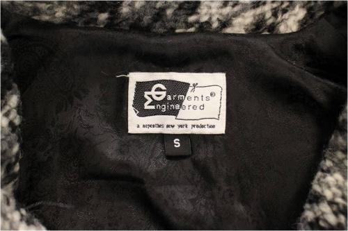 ショールカラーニットジャケットの古着