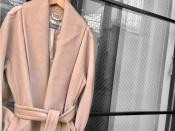 クラシックな秋に、MaxMaraのコートを。プレミアムな一着をご紹介!