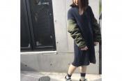 【DIESEL/ディーゼル】よりアームMA-1ニットワンピースのご紹介!!