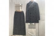 【tricot COMME des GARCONS/トリココムデギャルソン】より同シーズン同柄のダブルコートとタイトスカートが買取入荷!!