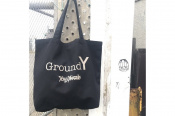 【Ground Y/グラウンド ワイ】よりロゴプリントトートバッグのご紹介♪