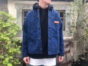 【SUPREME×COMME des GARCONS SHIRT/シュプリーム×コムデギャルソンシャツ】より18AWのプリンテッドキャンバスクロームコートをご紹介!!