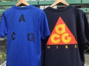 【NIKE ACG/ナイキ エーシージー】よりバックロゴTEEのご紹介。