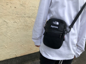 Supreme x The North Face/シュプリーム × ノースフェイスより人気な高い18AWのLeather Shoulder Bagをご紹介!!