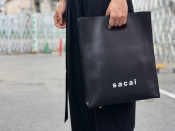 sacai / サカイ 2019SS Shopper Mediumより人気のブラックが買取入荷!