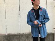 GIVENCHY/ジバンシーより、定番スターパッチデニムシャツ入荷です!!