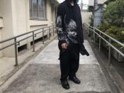 BLACK Scandal Yohji Yamamoto / ブラックスキャンダルヨウジヤマモト 2018AWコレクションより般若ブラウスが入荷致しました。
