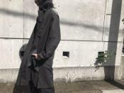 Yohji Yamamoto Pour Homme / ヨウジヤマモトプールオム 2018SSコレクションよりリネン混ロングコートのご紹介。