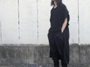 YOHJI YAMAMOTO POUR HOMME / ヨウジヤマモトプールオム 2017年春夏コレクションよりLOOK24着用レーヨンロングシャツが買取入荷。