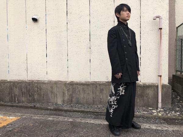 「ドメスティックブランドのYohjiYamamoto pour homme 」