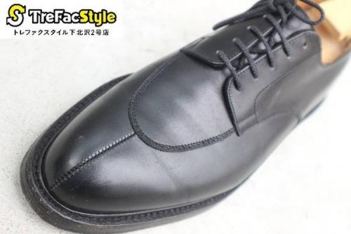 革靴のレザーシューズ