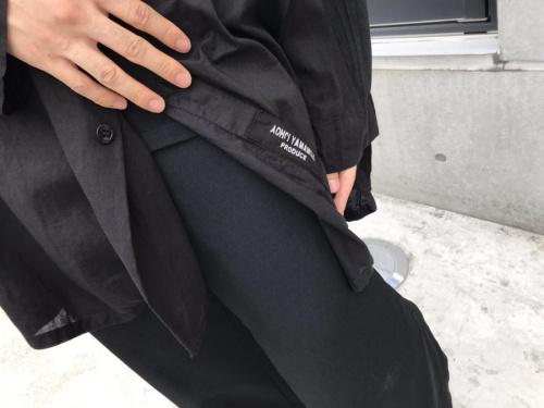 ヨウジヤマモト プールオムの18SS シャツ