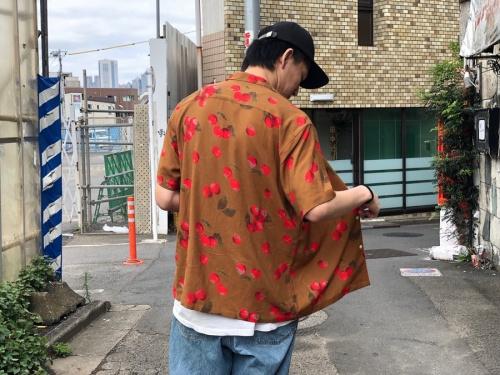 Cherry rayon shirtの19ss