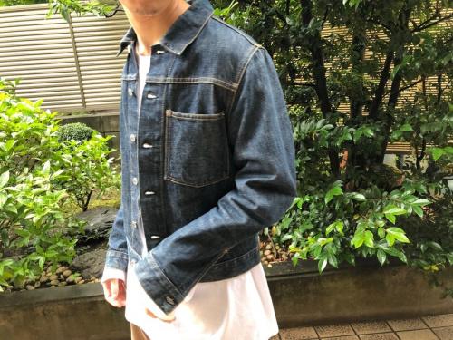 ヘルムートラングのデニムジャケット
