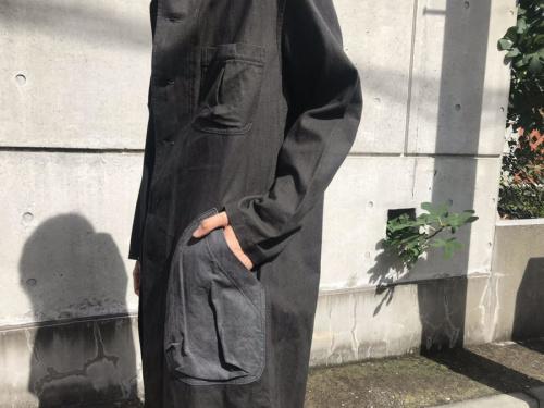 2018SSのリネン コート