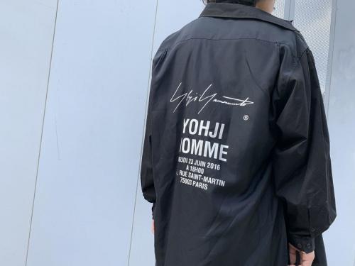 ドメスティックブランドのYOHJI YAMAMOTO pour home