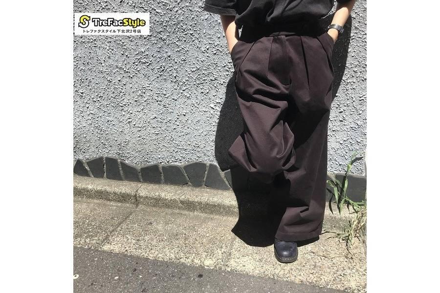 【STUDIO NICHOLSON/スタジオニコルソン】よりスタイリッシュなレディースパンツのご紹介!!