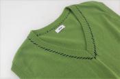 【ALLEGE/アレッジ】Hand stitch knit vestが入荷しました!