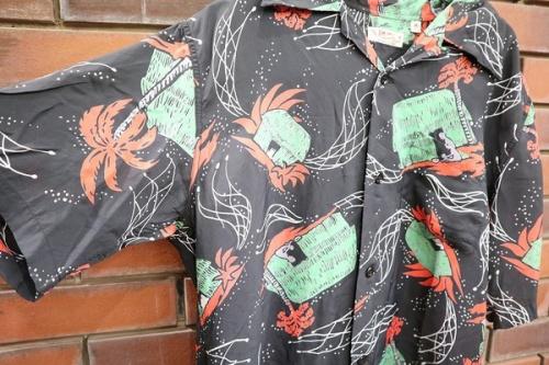 サンサーフのアロハシャツ