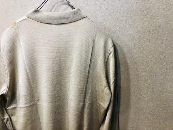 エルメスのシルクスカーフ ポロシャツ