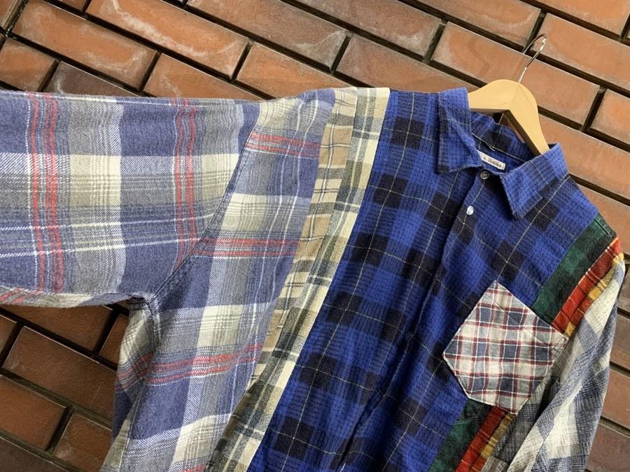 リビルド バイ ニードルスのWide 7 Cuts Shirt