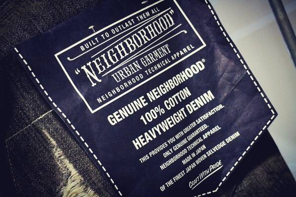 「NEIGHBORHOODのデニム 」