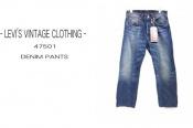 LEVI'S VINTAGE CLOTHINGの数ある501の中から1947モデルを入荷!