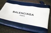 【BALENCIAGA/バレンシアガ】NABY CABAS、エブリデイトートバッグに続いて今回はNAVY CLIP、ポーチが入荷です。