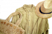 自然体でリラックス【nest Robe/ネストローブ】リネン素材で仕立てたワンピース