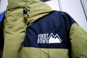 【FIRST DOWN/ファーストダウン】別注の未使用ダウンジャケット入荷しました!