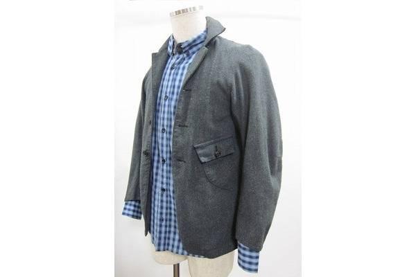 「川のウールジャケット 」