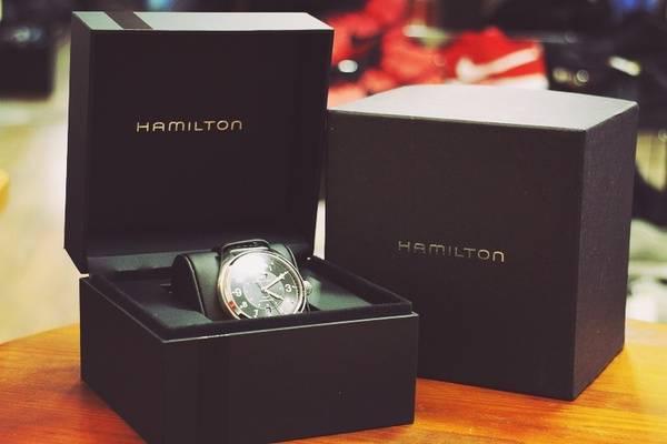 「HAMILTONの腕時計 」