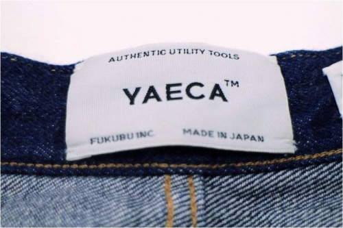 YAECAのワイドパンツ