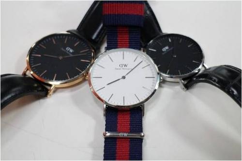 Daniel Wellingtonの時計