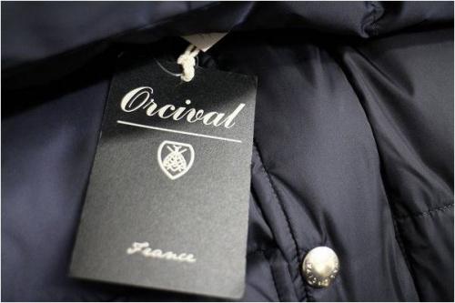 ORCIVALのダウンジャケット