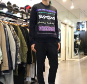 KENZO(ケンゾー)のスローガン刺繍入セーターが入荷致しました!!