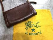IL BISONTE(イルビゾンテ)レザーショルダーバッグが入荷致しました!!