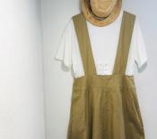 【GRANDMA MAMA DAUGHTER/グランマママドーター】本格派の方へ。コットンジャンパースカート入荷しました!『古着買取トレファクスタイル亀戸1号店』