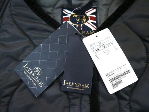 ラベンハムのキルティングジャケット