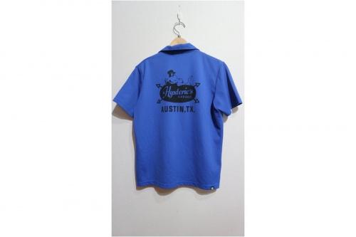 ヒステリックグラマーのオープンカラーシャツ