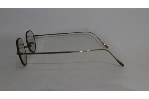 金子眼鏡の伊達メガネ