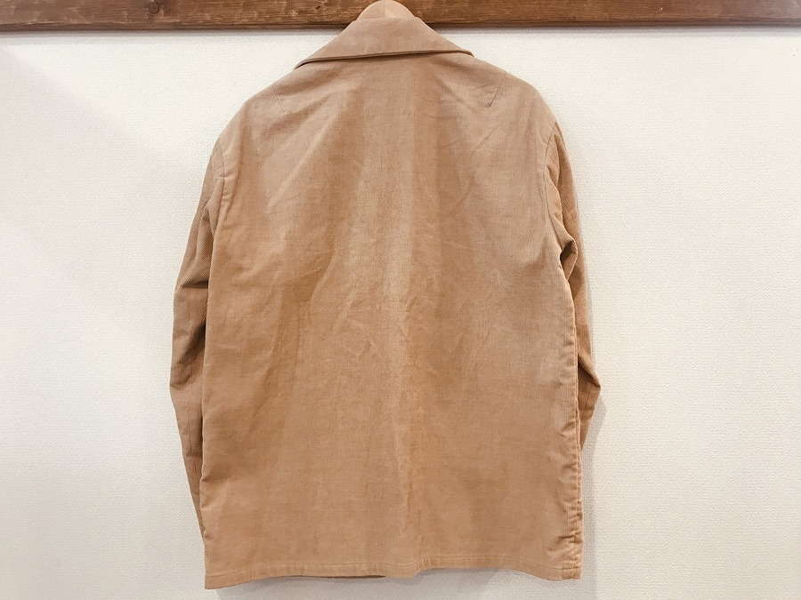 オーラリーのヘンプコーデュロイジャケット